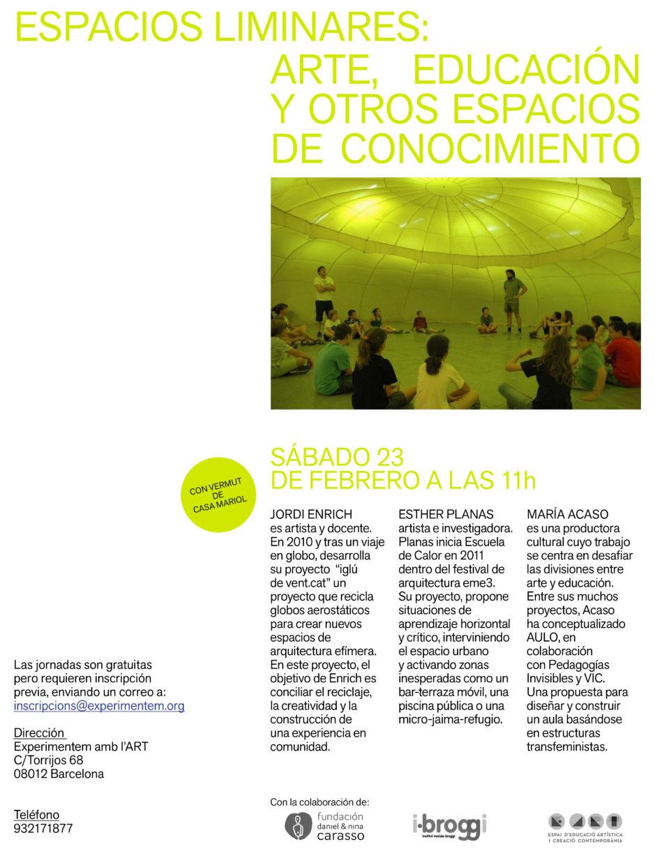 flyer espacios liminares 2